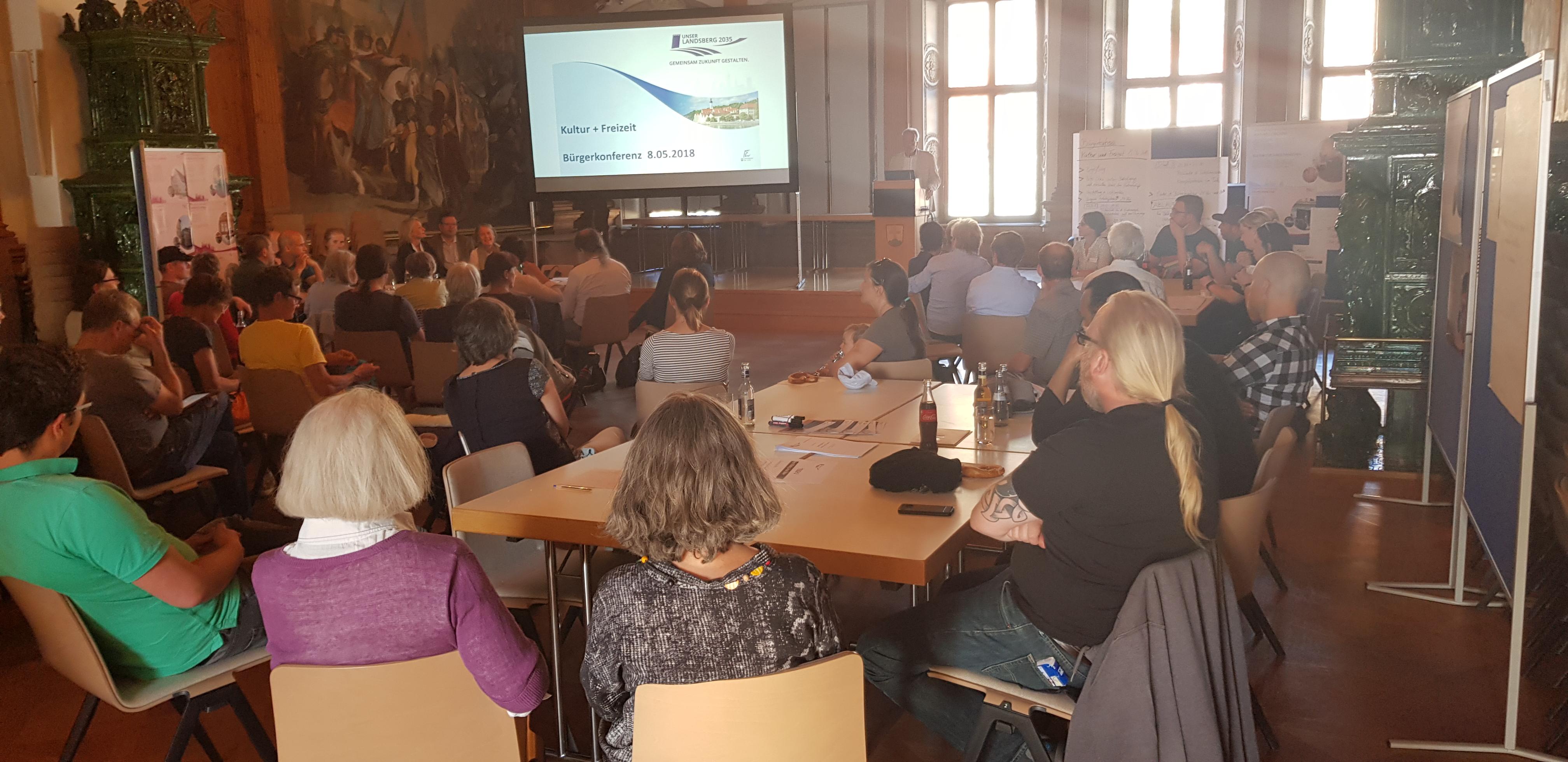 Bürgerkonferenz Kultur + Freizeit