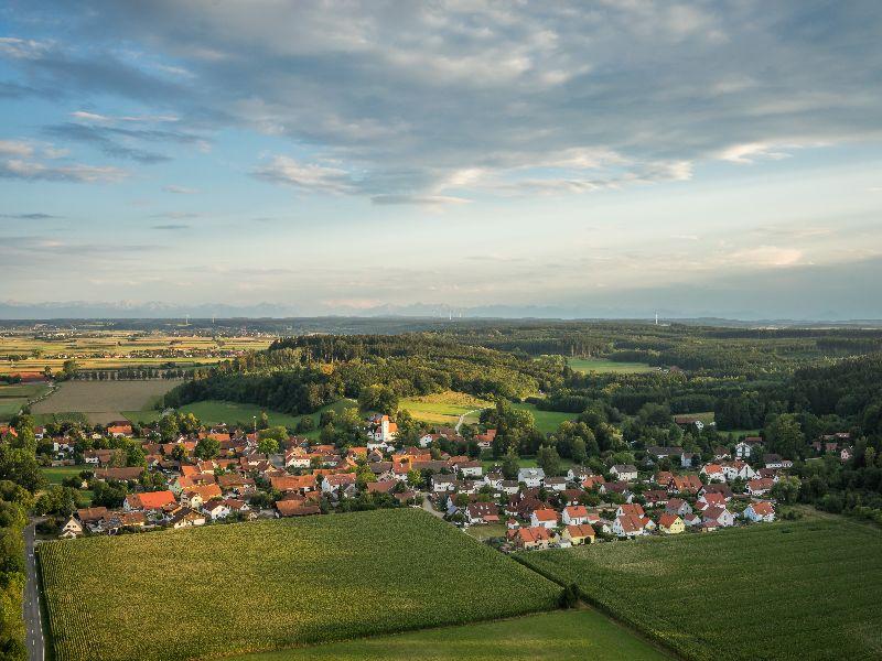 Luftbild Ellighofen